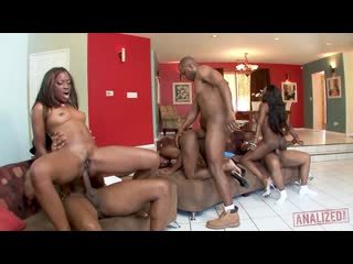 Diamond Jackson & Jada Fire & Monique - Black orgy