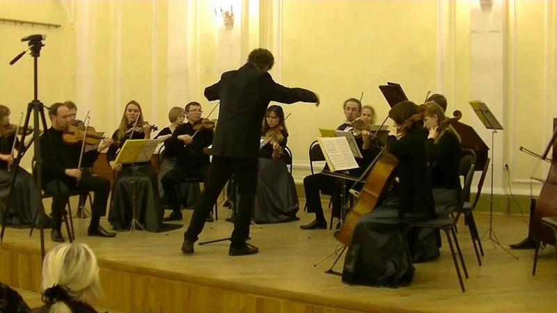 В.Ф. Бах симфония фа мажор W.F. Bach symphony in F dur