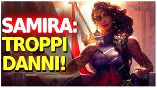 GAMEPLAY DI SAMIRA ADC SUL PBE!! 🔥 Un assassin/adc che fa troppi danni