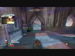 Quake Champions на Wiimote