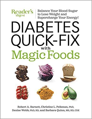 Diabetes Quick-Fix with Magic Foods Balance Your Blood Sugar to Lose Weight and Supercharge Your Energy!