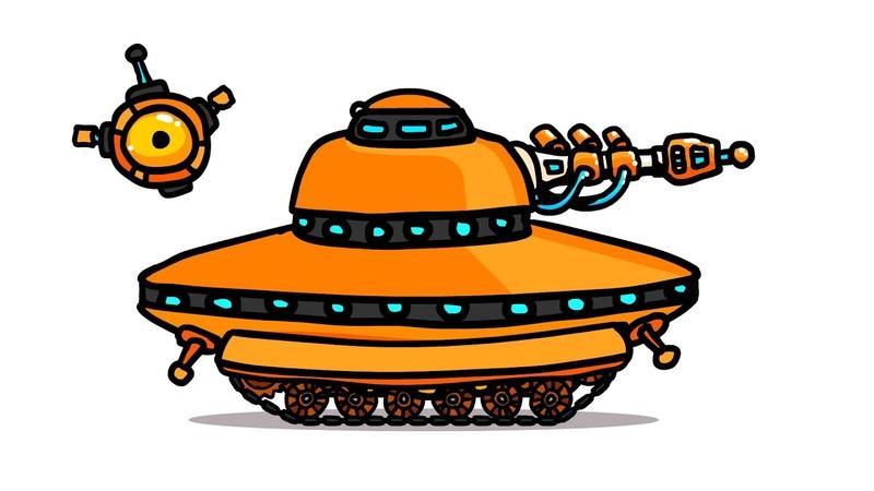 РЕН ТВ сделали танк - Танковая Дичь (анимация)