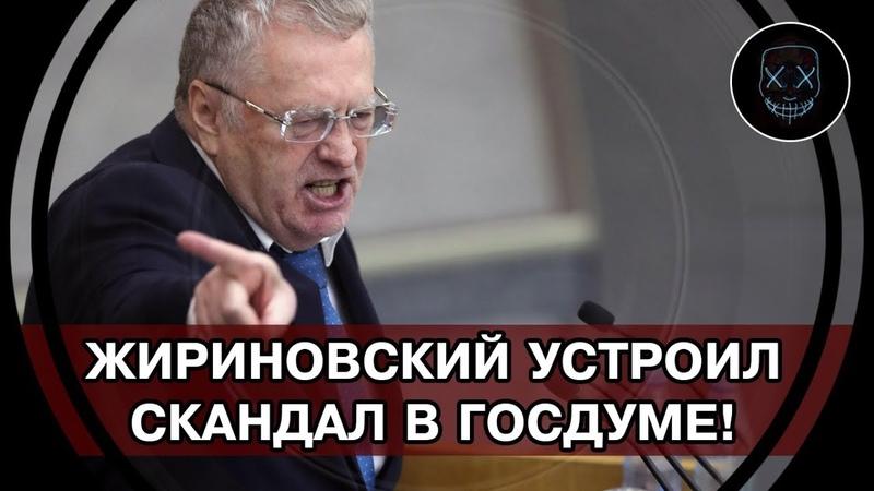 Срочно! Жириновский в бешенстве: Единая Россия - сборище терпил! Навального в психушку и в тюрьму!