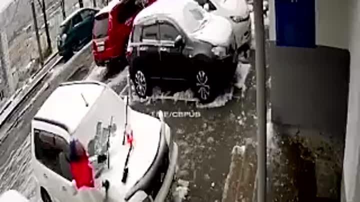 Водитель Nissan из Владивостока празднует второй день рождения Нагвоздиться надо в хлам
