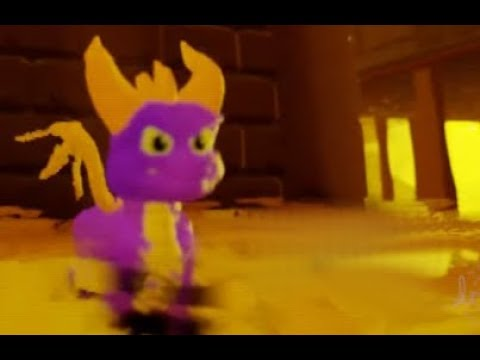 SPYRO ETERNAL REALMS Spyro The Dragon 3D FANGAME Created on Dreams PS4