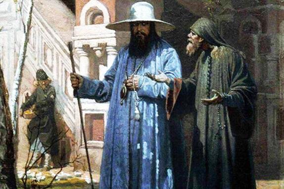 Вячеслав Шварц «Патриарх Никон в Новом Иерусалиме», 1867 год