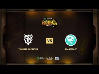 Thunder Predator vs beastcoast, Monster Energy DOTA Summit 13: NA, bo3 game 2 [Mila]