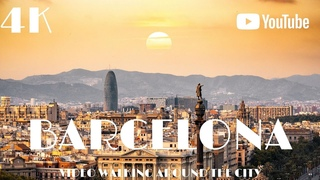 BARCELONA Spain 🇪🇸 Walking Europe in 4k Dji Osmo Pocket