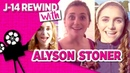 Alyson Stoner Talks Camp Rock, Step Up Kiss and More in Old Interviews J14 Rewind