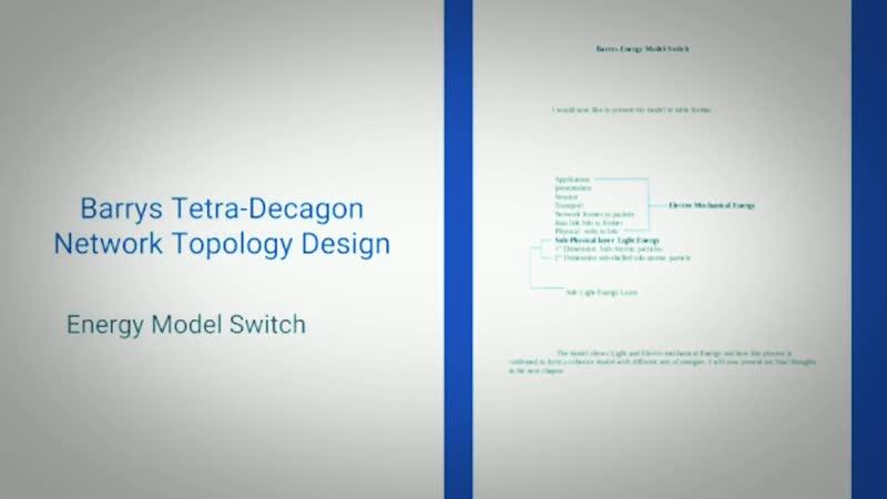 Barrys Tetra-Decagon Network Topology Design