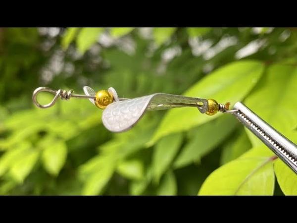 DIY own fishing lure Pinwheel - اصنع بنفسك الصيد إغراء الصيد المروحة - DIY señuelo molinete
