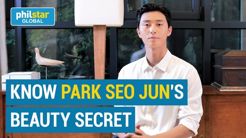 How Park Seo Jun maintains his lively and young looking appearance