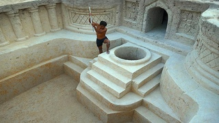 The Most AWESOME Underground Well Supply Water To Underground Swimming Pool |Building