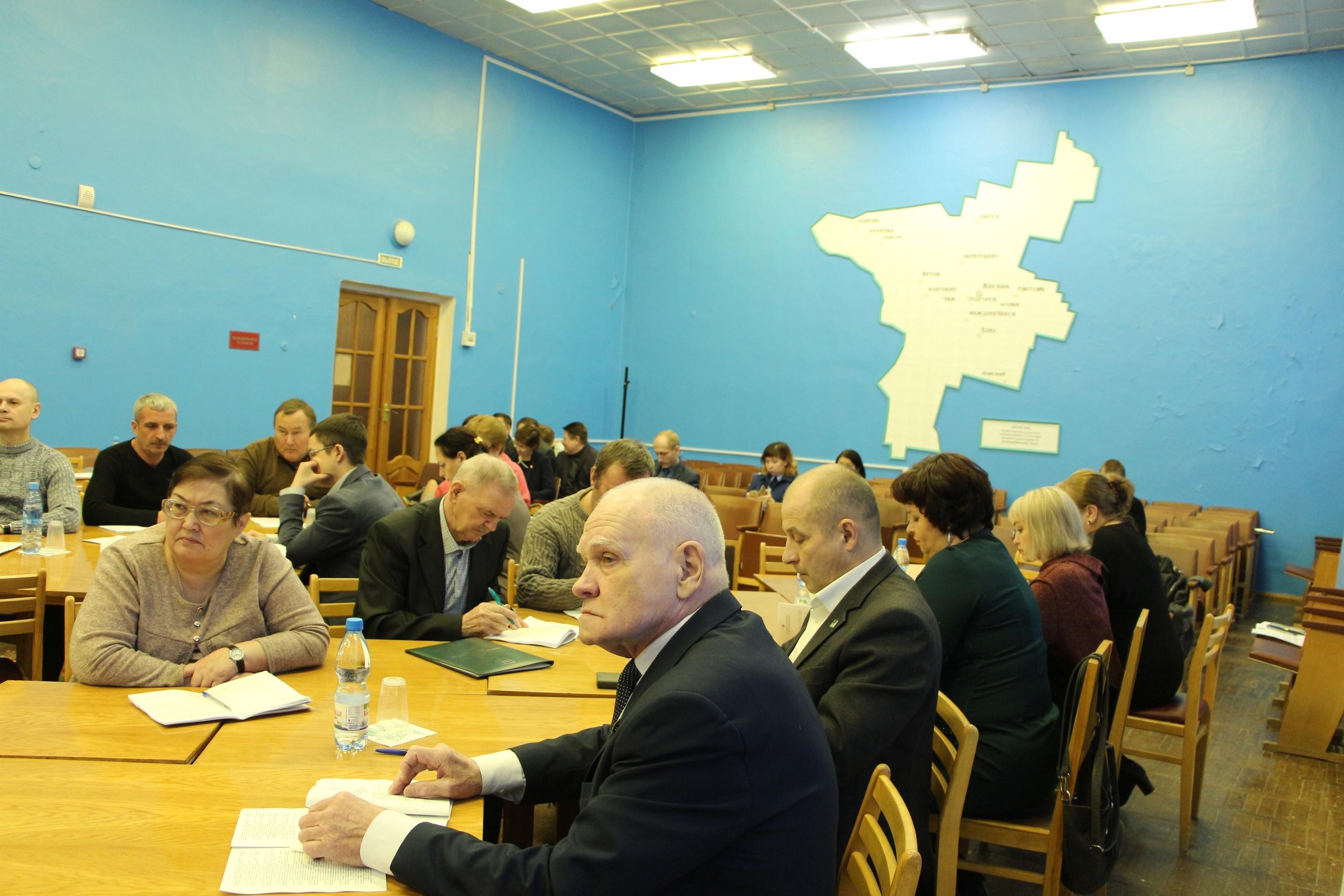 Слаженная работа депутатского состава Совета муниципального района