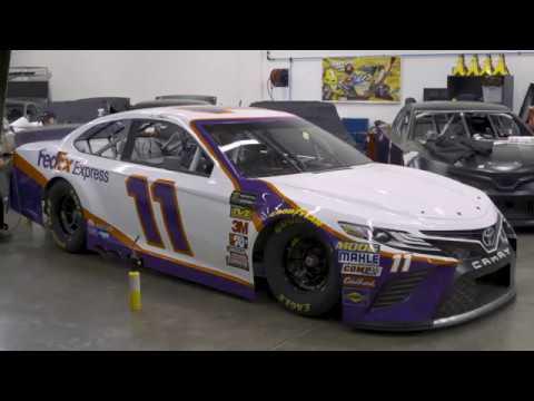 Denny Hamlin FedEx No 11 Car Wrap