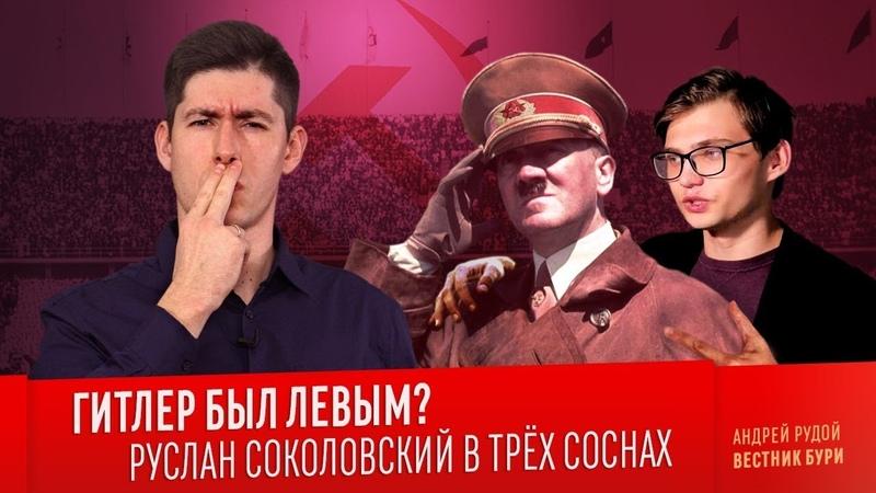 ГИТЛЕР БЫЛ ЛЕВЫМ? Руслан Соколовский в трёх соснах