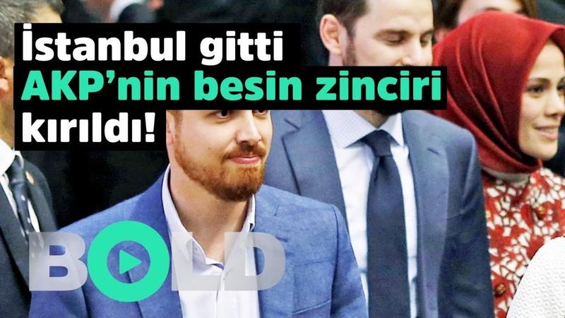İstanbul gitti AKP'nin besin zinciri kırıldı Bakın paralar nereye akmış