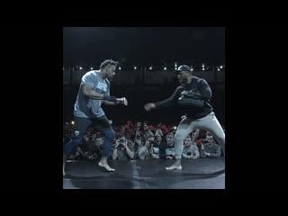 Грэг Харди на открытой тренировке перед UFC Москва