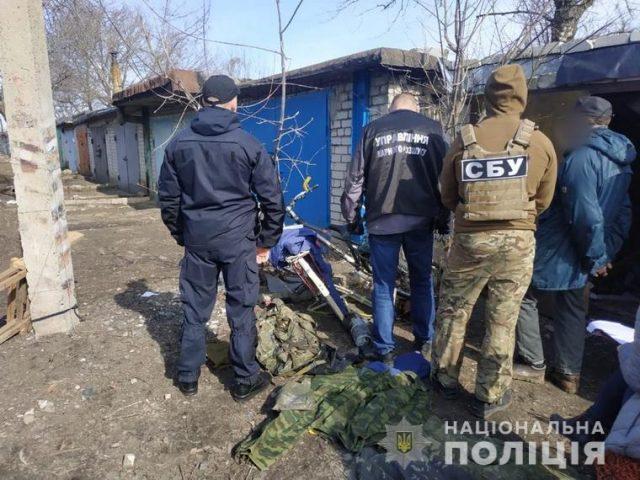 В Лисичанске правоохранители обнаружили боеприпасы боевика «ЛНР»