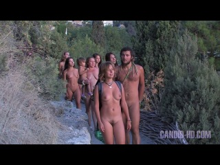 Nudist Hiking and Beautiful Nature - Naturists in HD
