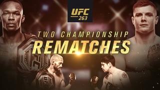 UFC 263: Adesanya vs Vettori 2 – Two Championship Rematches | Official Trailer | June 12