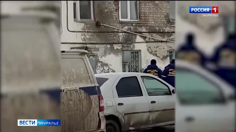 Сегодня в микрорайоне Керамзитный обрушилась кирпичная кладка жилого дома