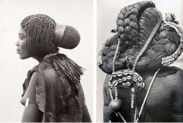 В Африке есть племя, в котором женщины всю жизнь только отращивают свои волосы