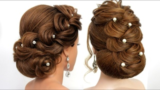 2 Party hairstyles for medium&long hair. Bridal hairstyle. [Hair inspiration]