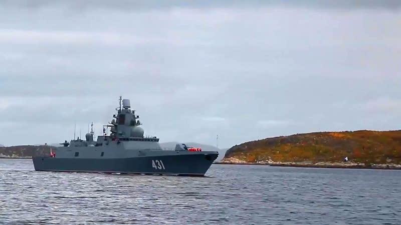 Фрегат Адмирал Касатонов Северный Флот МУЗ Воины Света ✭ АЙВЕНЕНГО © 2020
