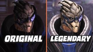 Mass Effect - Legendary vs Original Graphics Comparison | Characters, Eden Prime, Citadel