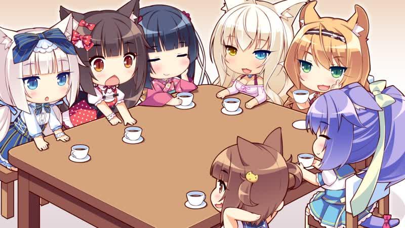 Nekopara Vol 0 так начиналась любовь к котейкам ノ´ з ` ノ =ω=