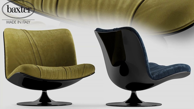 №161 Chair modeling Baxter marilyn Autodesk 3ds Max