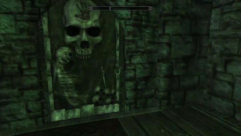 Максим Беззаботный TES 5 Skyrim Прохождение Пятые Врата The Fifth Gate 1 Гробница Неизвестного