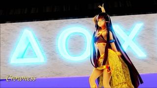 【MMD 萌王EX】Hyuna - I'm Not Cool ft. Ramesses II 19.5:9