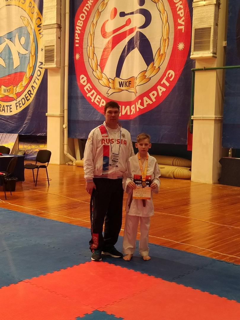 Юный каратист из Петровска стал призёром Всероссийских соревнований