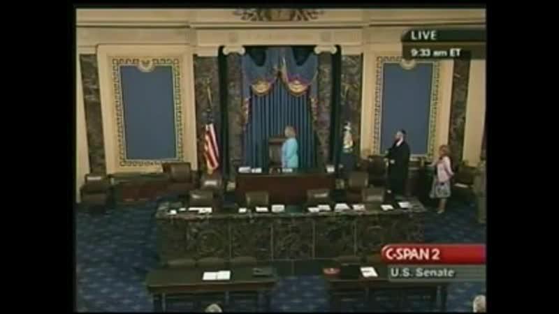 Genocidal 7 Noahide Laws preached at US Senate