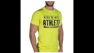 Мужская футболка для тренажерных залов, фитнес, бодибилдинг, тонкая, летняя, повседневная, с модным принтом, хлопок, топы,