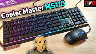 Cooler Master MS110 Combo - клавиатура с гибридными переключателями MEM-CHANICAL + мышь!!!