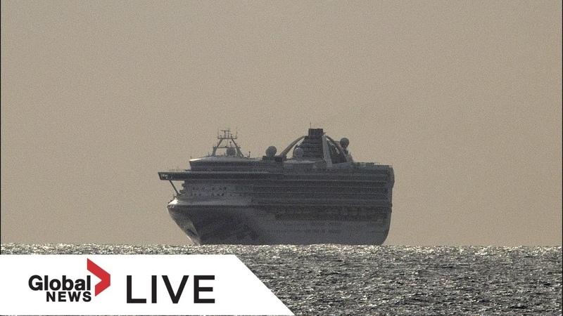 Coronavirus outbreak Grand Princess cruise ship docks in Oakland Calif LIVE