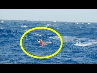 Dieser Mann versuchte der Insel zu entkommen  Schau, was dann passierte...