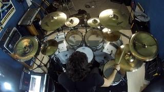 "Brutal Drumming - Zildjian A Ultra Hammered 19"" China (HD)"
