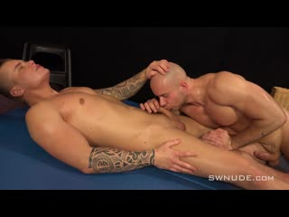 [1080]  [swnude]  Jindra Durak vs Marek Borek S-Extra (Wrestling)