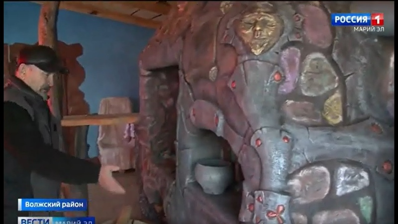 Алексей Калинин из Марий Эл создаёт удивительные вещи из дерева металла и бетона