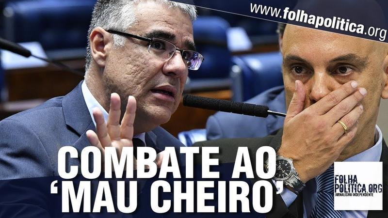 URGENTE: Senadores se unem para combater atos com 'mau cheiro' do STF e reagem - Lava Toga