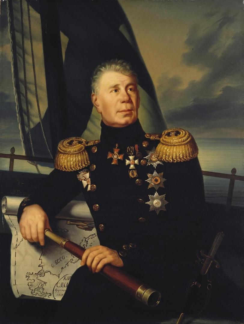 Инициатор создания Офицерского класса при Морском кадетском корпусе, адмирал И.Ф. Крузенштерн
