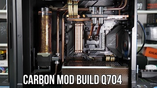 Carbon Modded Build / Seasonic SYNCRO Q704 Case