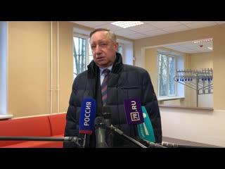Александр Беглов пресс-подход 11 января