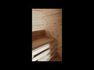 Каркасный дом-баня 4х4 с террасой 2х4