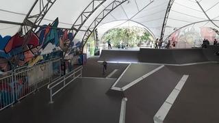 Скейт-парк в парке Сокольники