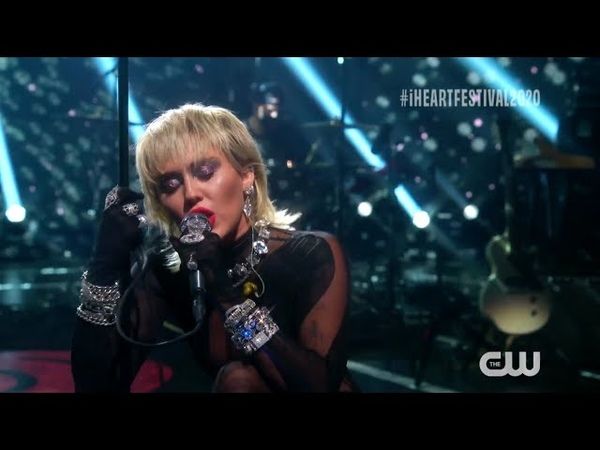 Miley Cyrus Midnight Sky Live at the iHeartRadio Music Festival 2020